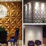 ELEGANT 3D WALL PANEL SET - STAR REC