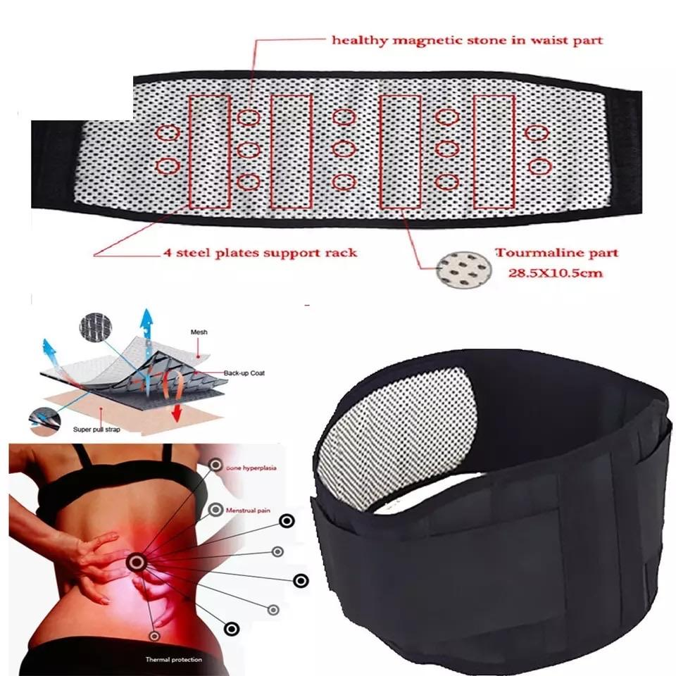 Innovative Self-heating Magnetic Belt for Self Relief