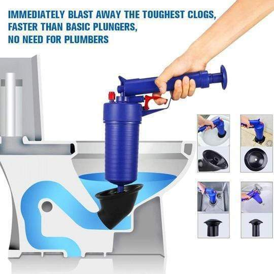 massivedreamers Air Power Clog Remover Pump