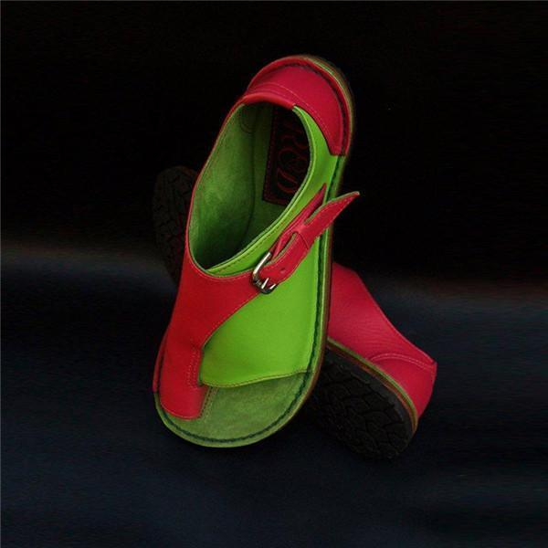 massivedreamers Red-Green / US 5.5 Comfy shoes