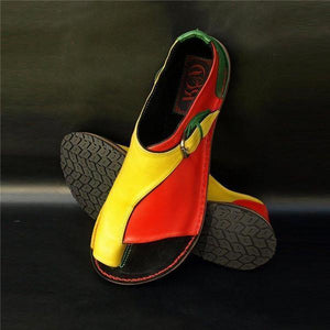 massivedreamers Red-Yellow / US 5.5 Comfy shoes
