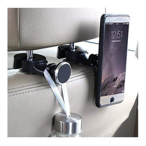 Rapture Unlimited 360° Magnetic Car Back Seat Phone Holder