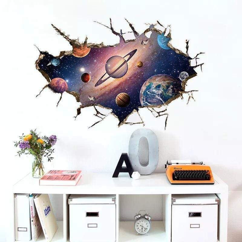 Rapture Unlimited 3D Galaxy Home Sticker