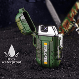 Rapture Unlimited ABS USB Charging Silent Lighter Waterproof & Windproof Outdoor Explorer