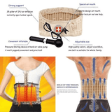 Rapture Unlimited ACCUPAIN™  Lumbar Back Pain Relief Belt