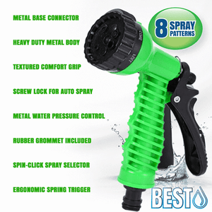 Rapture Unlimited Best Garden Hose Nozzle