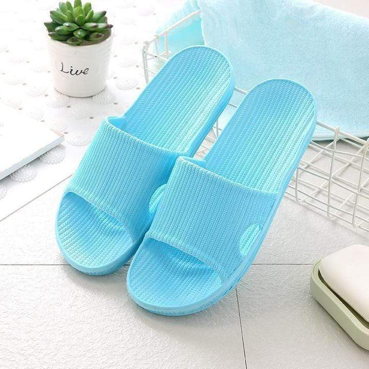 Rapture Unlimited BLUE / WOMEN US 5-6 Anti-Slip Home Slippers