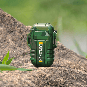 Rapture Unlimited CAMOUFLAGE*2【$16.99/PC】 ABS USB Charging Silent Lighter Waterproof & Windproof Outdoor Explorer