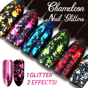 Rapture Unlimited RED Chameleon Nail Flakes