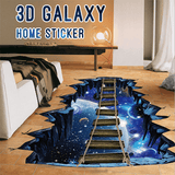 Rapture Unlimited GALAXY BRIDGE 3D Galaxy Home Sticker