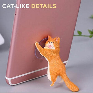 Rapture Unlimited GINGER Cute Cat Phone Holder