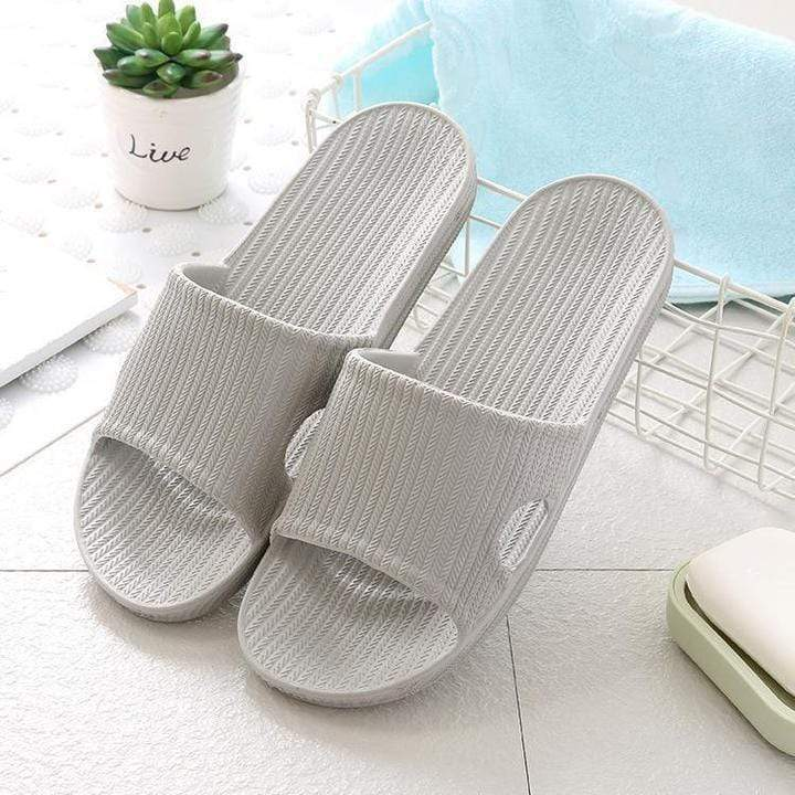 Rapture Unlimited GRAY / WOMEN US 5-6 Anti-Slip Home Slippers