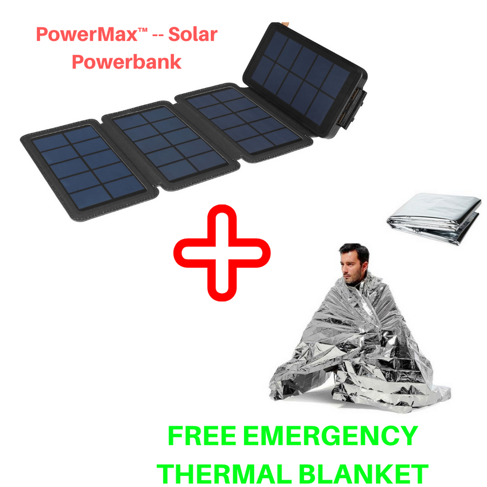 PowerMax™ -- Solar Powerbank