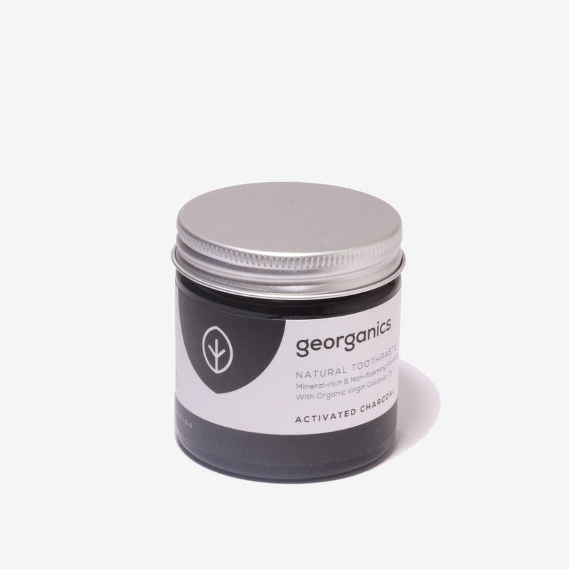 Georganics Natural Toothpaste – Activated Charcoal