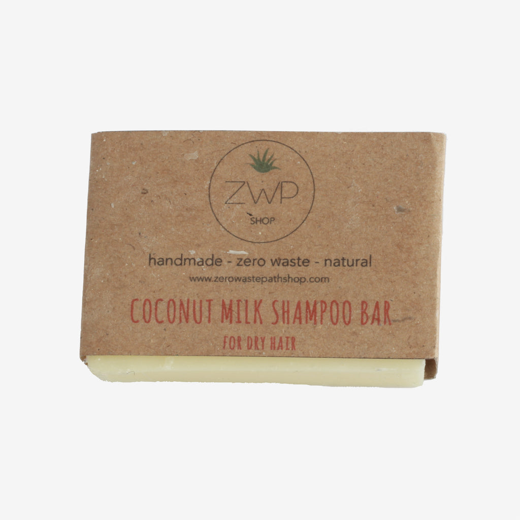 ZWP Coconut Milk Shampoo Bar for Dry or Curly Hair