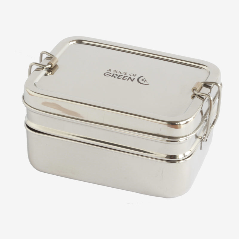 Double-Decker Lunch Box with Mini Container