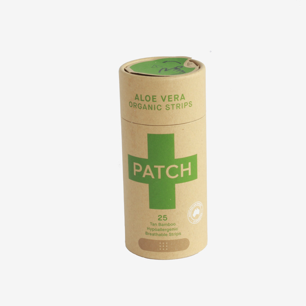 Patch Aloe Vera Adhesive Strips - Tube of 25