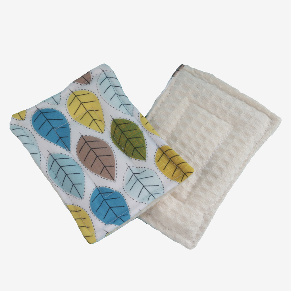 Organic, Zero Waste Sponge 2 Pack – Various Patterns