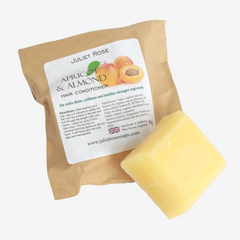 Apricot & Almond Solid Conditioner Bar for Extra Shine & Softness