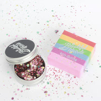 A Beautiful Weirdo™ Plastic Free Glitter – RAINBOW PRIDE