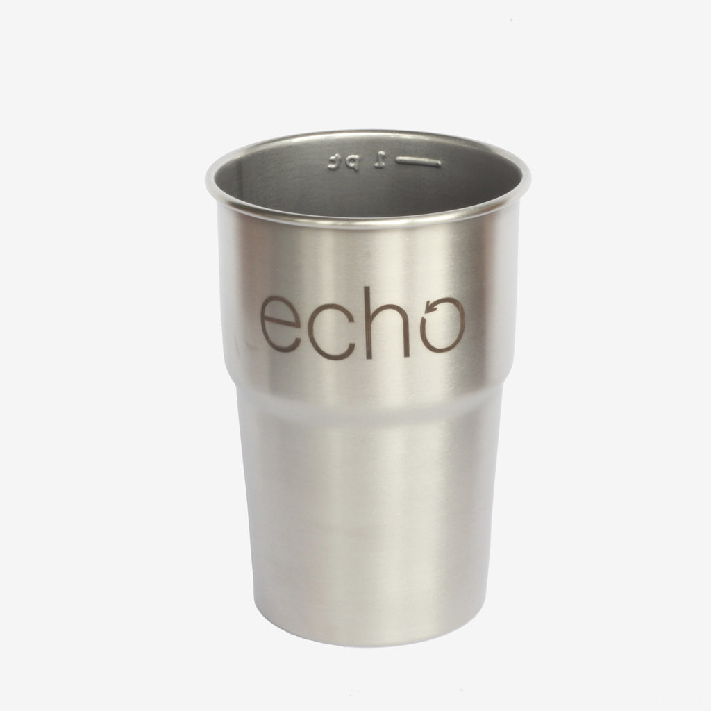 Reusable Stainless Steel Pint