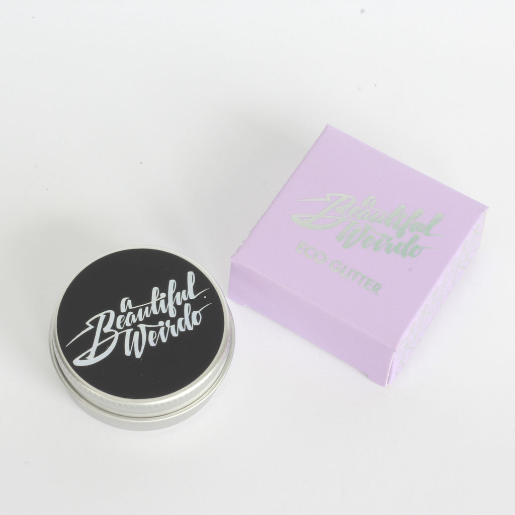 Plastic Free & Biodegradable Glitter - Straight Up Silver