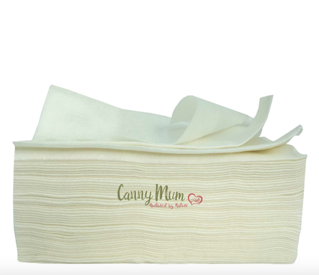 Biodegradable Bamboo Cleaning Wipes – 100 pack