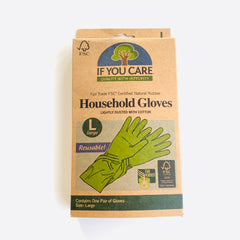 If You Care Natural Rubber Cleaning Gloves
