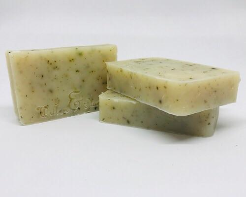 Soothing Nettle Two-In-One Soap & Shampoo Bar for Sensitive Skin