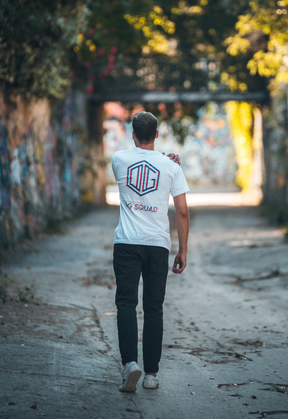 OG Squad Logo T-Shirt in White