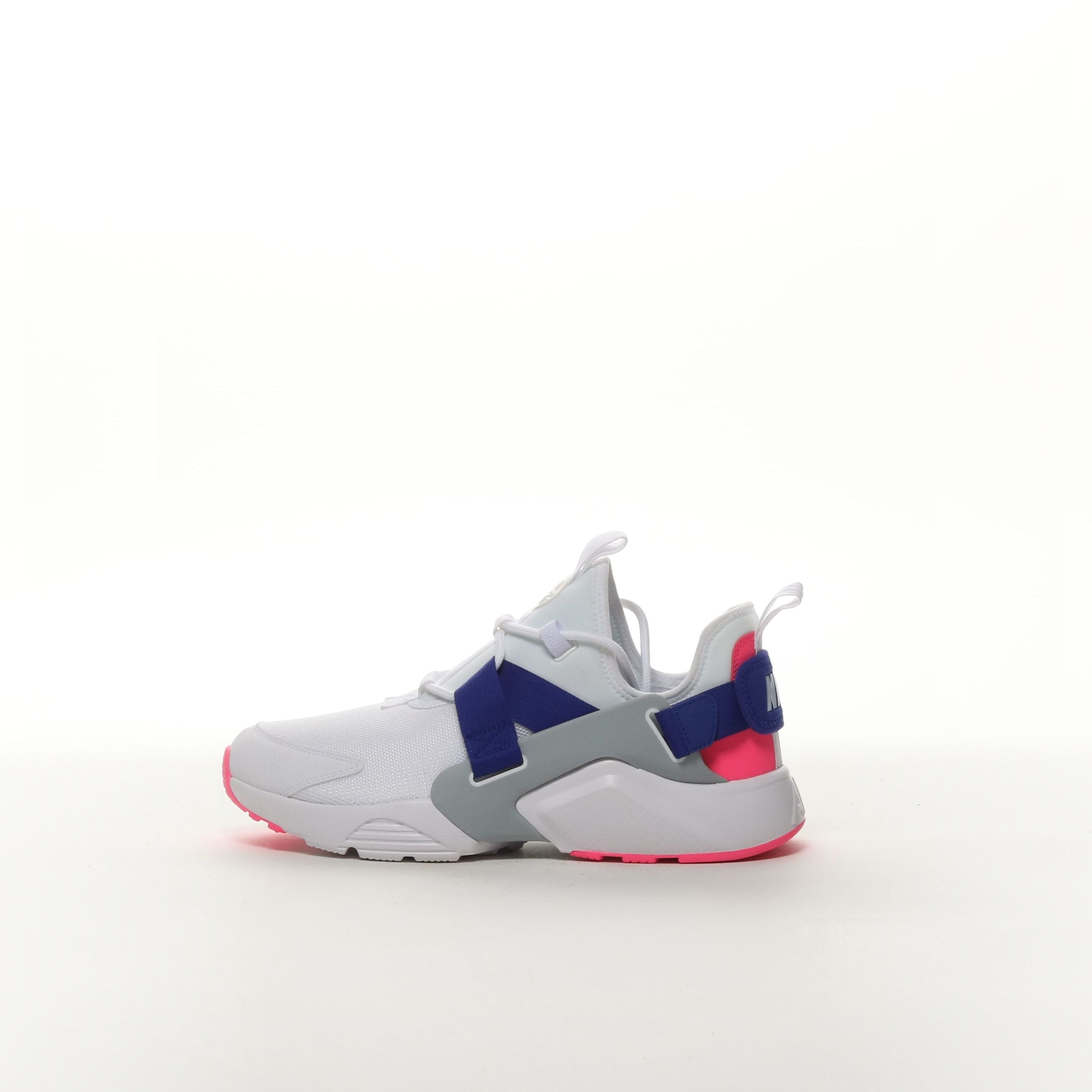 b7f374c09d449 Nike Air Huarache City Low - WHITE/CONCORD/LASER PINK/WOLF GREY – Resku