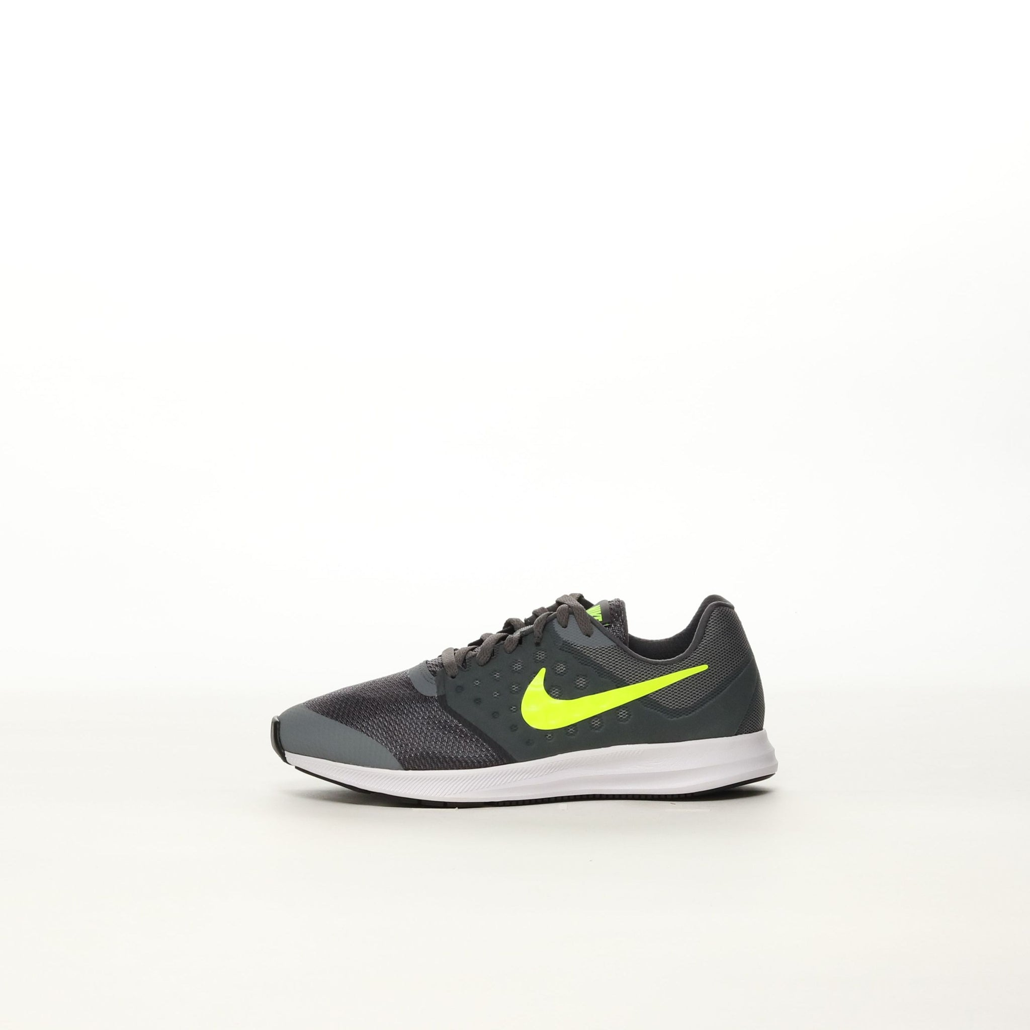 ee87f7e22ba4 Boys  Nike Downshifter 7 Wide (GS) Running Shoe - COL GY VOLT