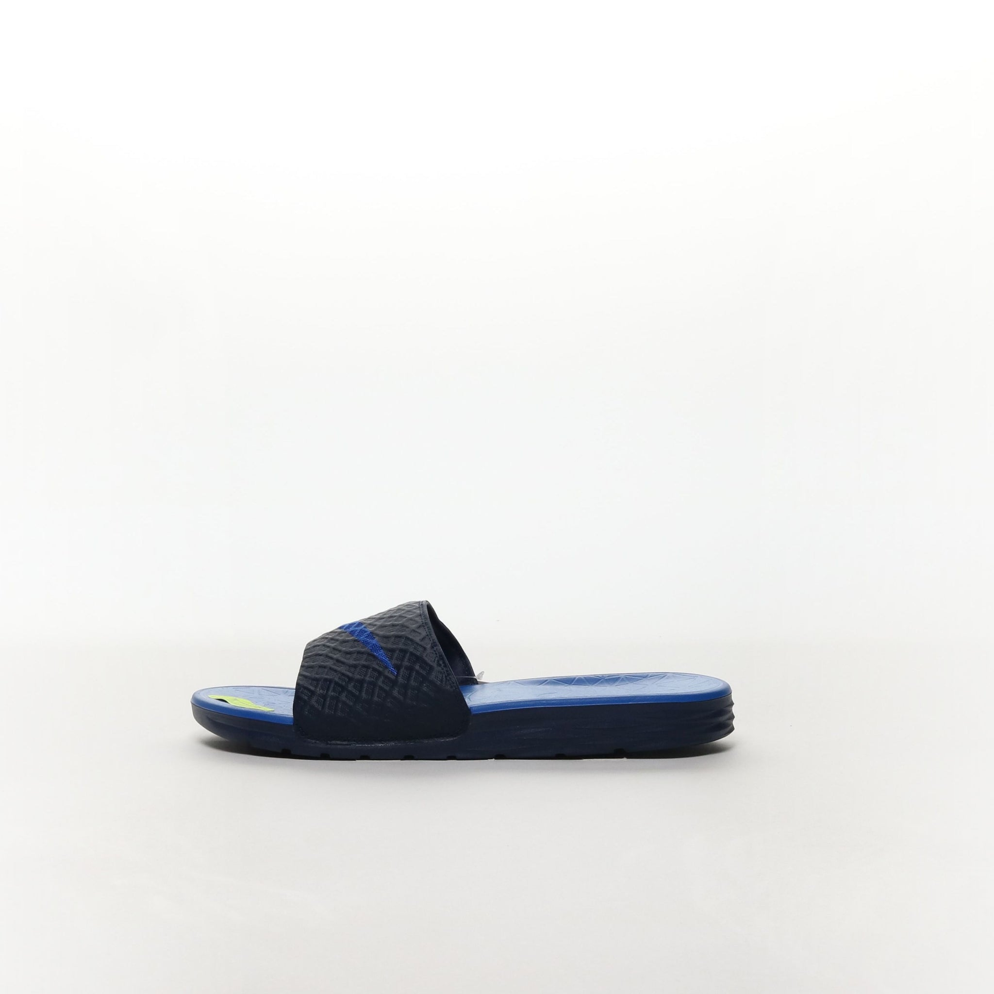 f46a6e9c76281 Nike Benassi Solarsoft Slide - MIDNIGHT NAVY LYON BLUE