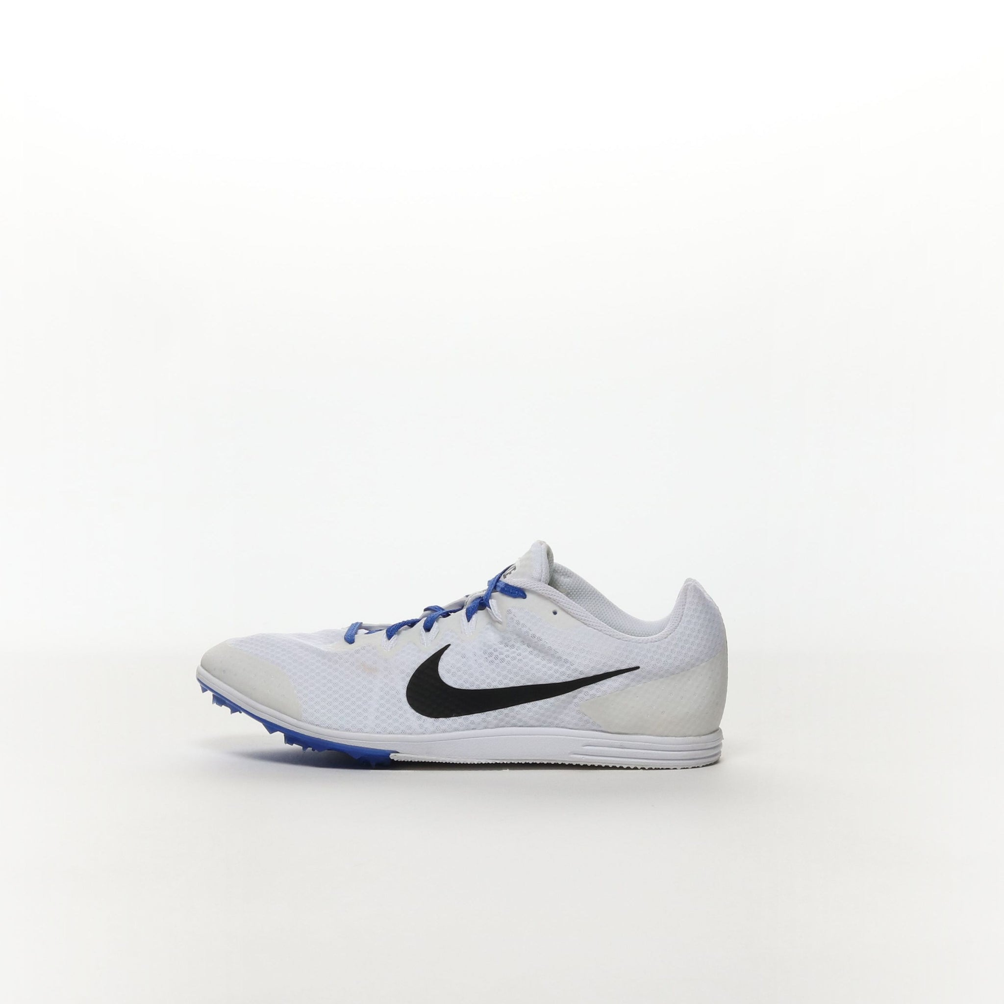 newest c9866 f127d Men s Nike Zoom Rival D 9 Track Spike - WHITE BLACK-RACER BLUE