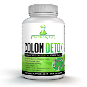 The Detox Lab Colon Detox (15 Day Supply)