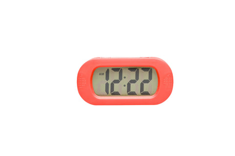 Regal Red Digital Alarm Clock