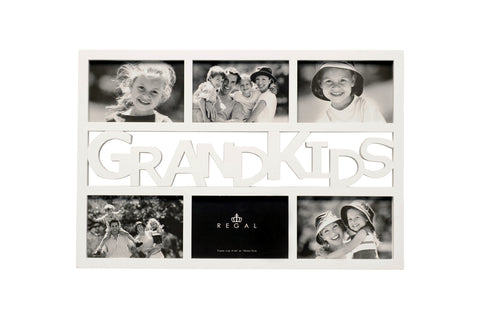 Regal Grandkids White Multi Frame | Regal Frames