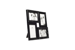Regal 4in1 Black Ornate Plastic Multi Frame-sold out