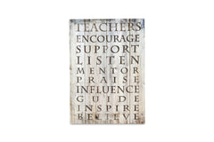 Regal A3 Canvas Teachers-sold out