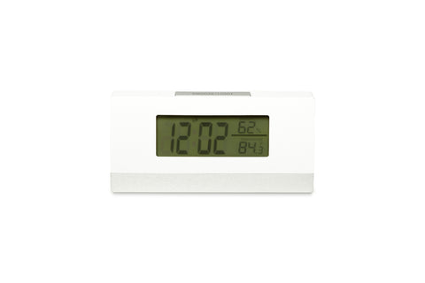 Regal LED White Digital Clock
