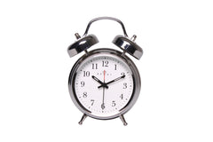 Regal Chrome Classic Twin Bell Alarm Clock-sold out