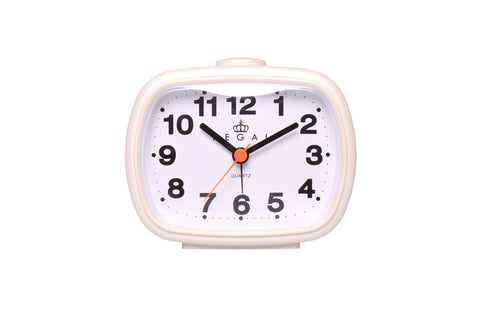 Regal White Classic  Alarm Clock | Regal Frames