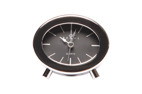 Regal  Chrome Chic Table Alarm Clock | Regal Frames