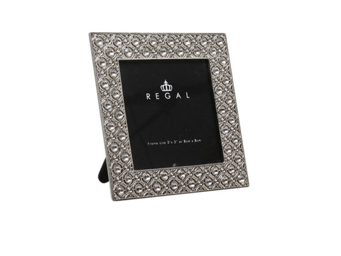 "Regal Circle 3x3"" Pewter 