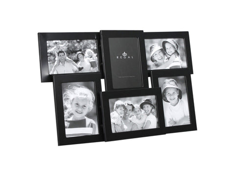 Regal Set of 6 Rect Black Frames | Regal Frames