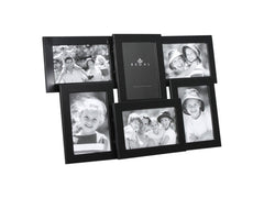 Regal Set of 6 Rect Black Frames