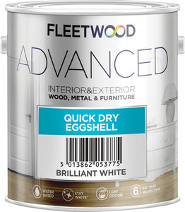 Fleetwood Advanced Eggshell 2.5Ltr