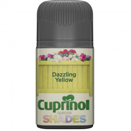 Cuprinol Garden Shades Dazzling Yellow 50ml