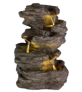 Amazone 5 Tier Rock Fountain