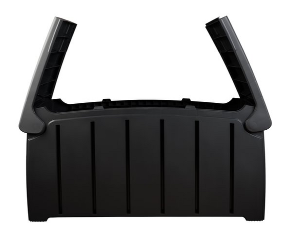 Garden Storage Box/Container 300L Black